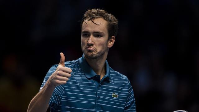 Медведев признан лучшим теннисистом России в 2019 году