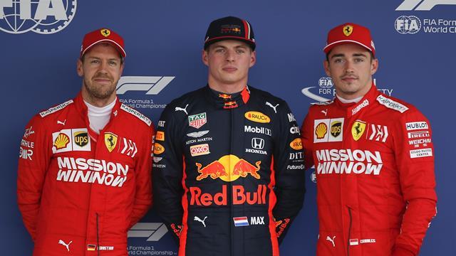 Leclerc, Verstappen ou Vettel ? Ils sont trois et il ne reste plus qu'une place sur le podium