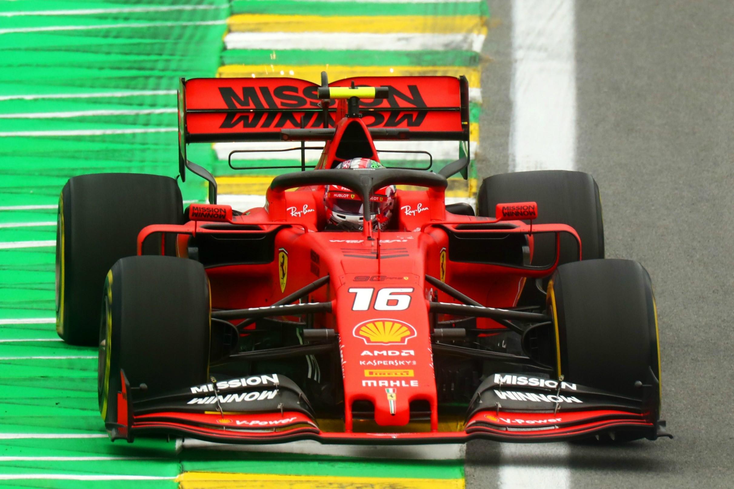 Charles Leclerc (Ferrari) au Grand Prix du Brésil 2019