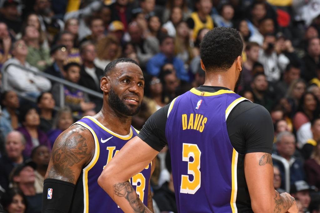 LeBron James ve Anthony Davis | Los Angeles Lakers