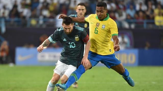 Messi plays up Brazil rivalry after Argentina win