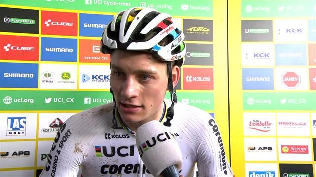 """Copa del Mundo de ciclocross, Van der Poel: """"Ha sido una semana muy emotiva"""""""