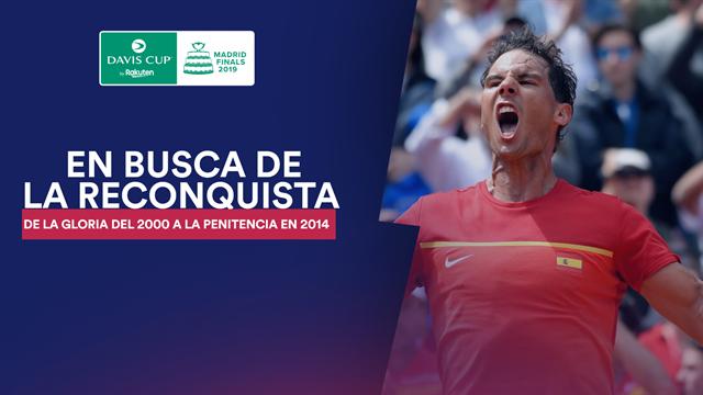 Copa Davis 2019: España busca reconquistar la 'Ensaladera'
