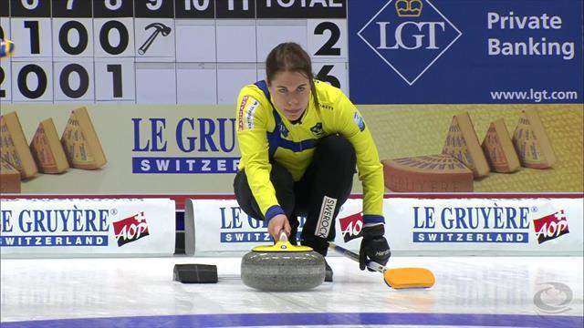 Europeos de Curling 2019: Suecia derrotó a Dinamarca