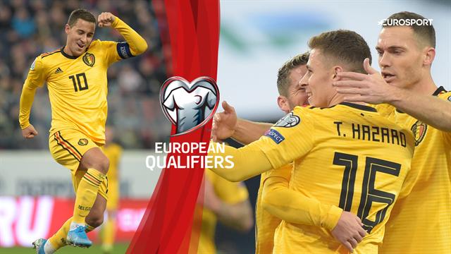 Hazard-show i Rusland: Eden og Thorgan på tavlen for Belgien