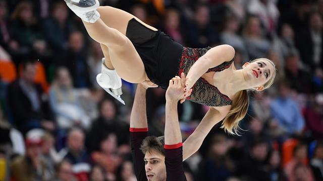 Eiskunstlauf: Hase/Seegert auf dem Treppchen - Schott mit Kür-Bestleistung Neunte