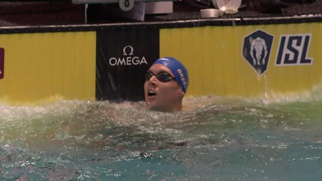 Explosive stuff from Caeleb Dressel to win 50m free