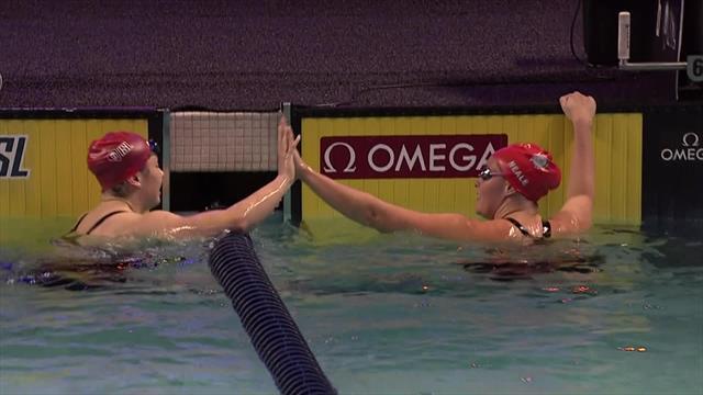 Siobahn Haughey dominates 200m freestyle