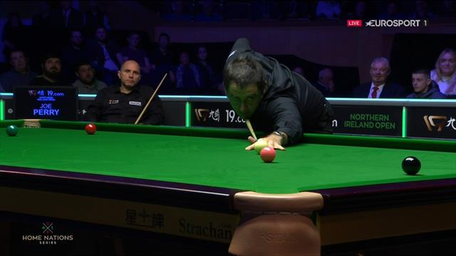 'Fluke of the decade!' – O'Sullivan gets the rub of the green against Perry