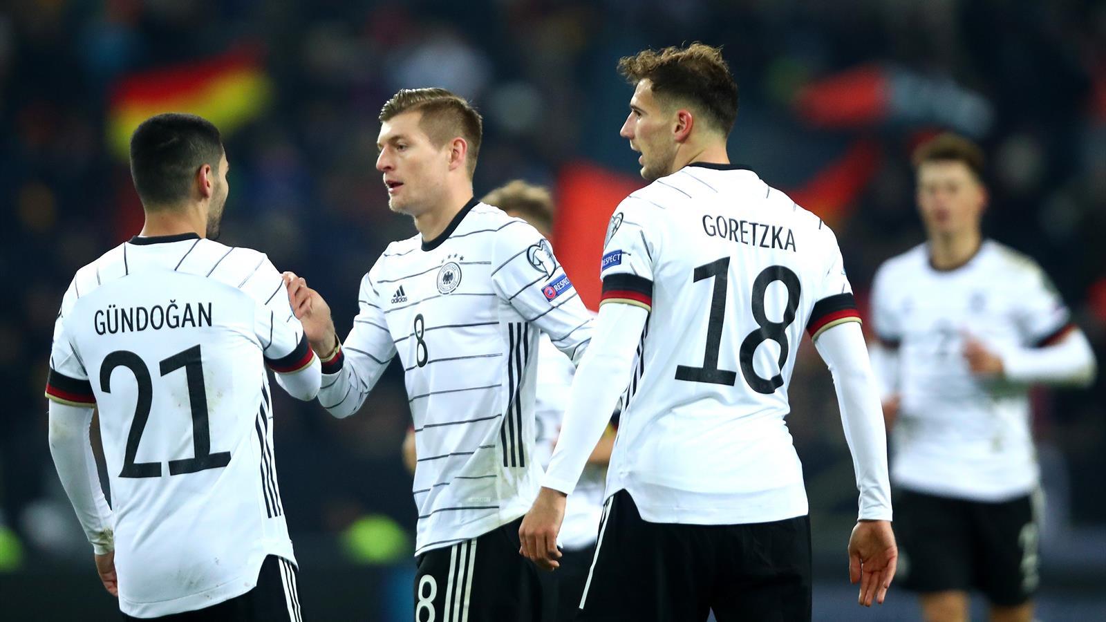 Germania-Bielorussia 4-0: Ginter, Goretzka, doppio Kroos e ...