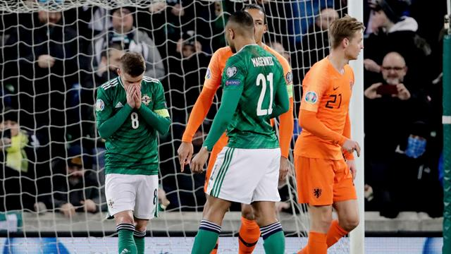 Northern Ireland suffer penalty heartbreak as Germany, Netherlands qualify for Euro 2020