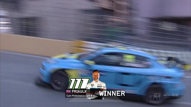 Race 3 finish