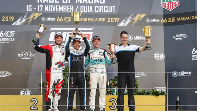 Race report: Muller, Priaulx win for Lynk & Co in Macau as Malaysia and Sepang rev up for WTCR title