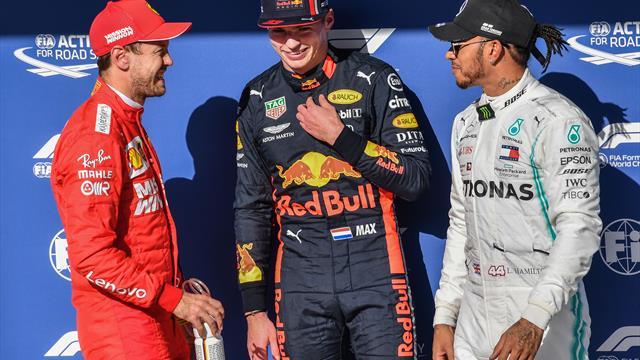 """Poker moteur : Quand Vettel chambre Verstappen pour sa pole """"un peu suspecte"""""""