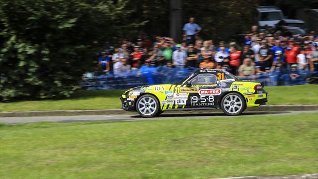 Comment Nucita a remporté l'Abarth Rally Cup en ERC