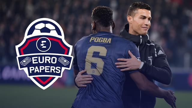 Euro Papers: Ronaldo revelation sparks Pogba-Juve transfer 'fever'