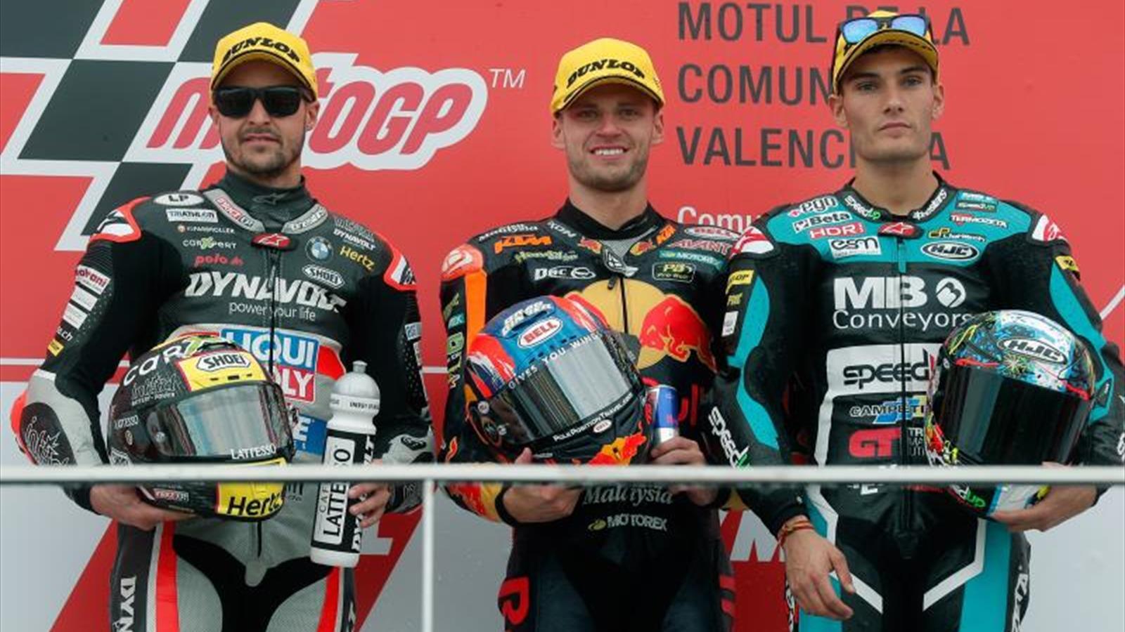 Binder sentencia el subcampeonato de Moto2 con una victoria, Á. Márquez se va al suelo - Eurosport