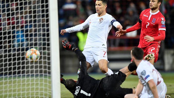 France Portugal Euro 2020 Calendrier.Football News Cristiano Ronaldo Nets 99th International