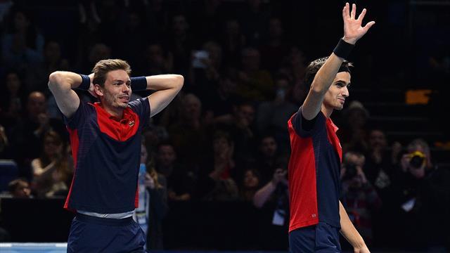 Herbert et Mahut étaient bien au-dessus : le résumé de la finale