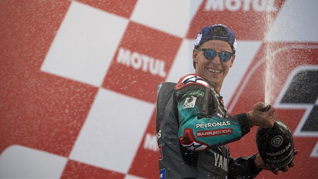 """Quartararo : """"Beaucoup disaient que je ne méritais pas ma place en MotoGP"""""""