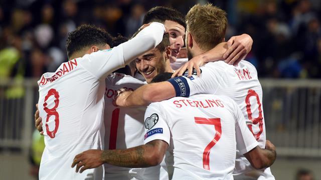 L'Angleterre jouera l'Autriche et la Roumanie en prération