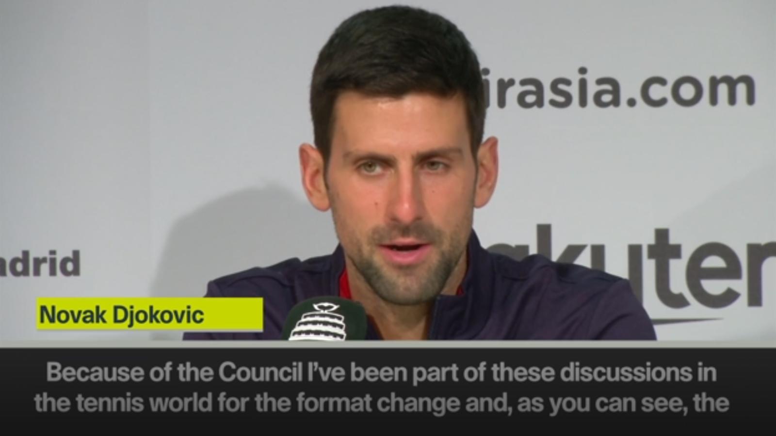 'Davis Cup change was very much needed' - Djokovic - Eurosport.co.uk