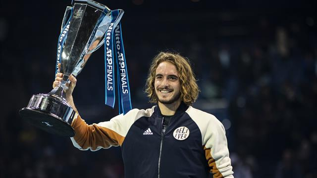 Tsitsipas destined for Slam glory after ATP Finals triumph, Nadal and Barty's magic seasons