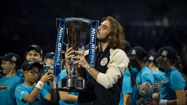 Tsitsipas sets sights on ATP No 1 ranking