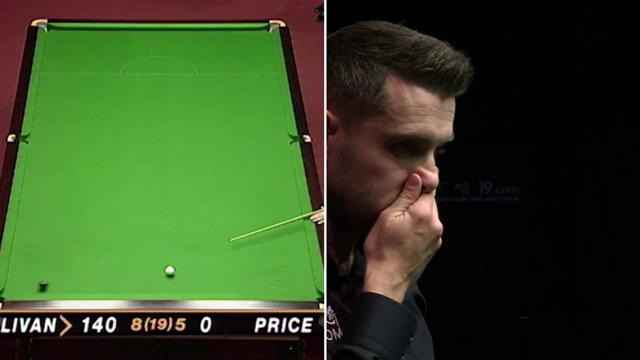 5:20 v 6:13 – Watch O'Sullivan's quickfire 147 alongside Selby's six-minute shot