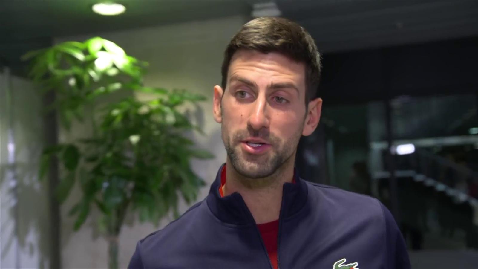 Novak Djokovic: I love playing for Serbia - Eurosport.com