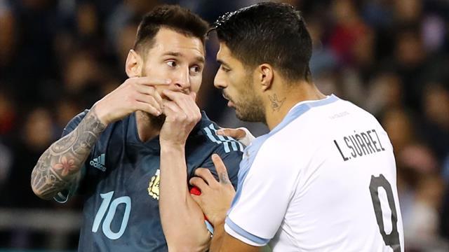 Argentina-Uruguay 2-2: pareggio con grandi firme a Tel Aviv