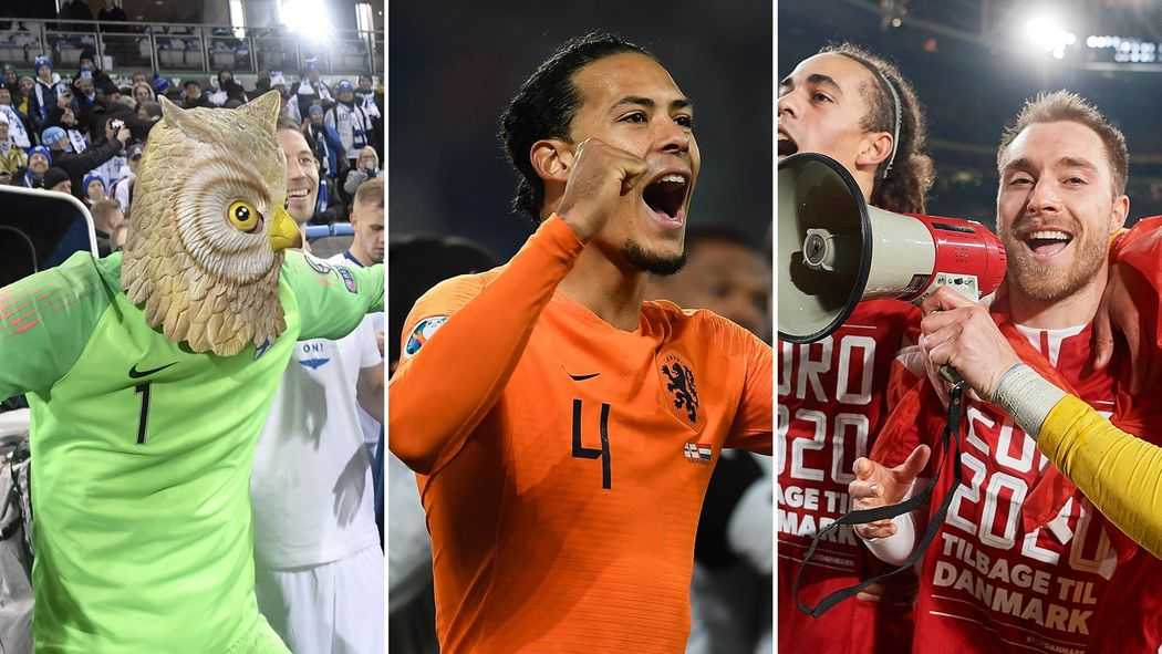 France Portugal Euro 2020 Calendrier.Euro 2020 News Who Has Qualified And Who Is Facing The