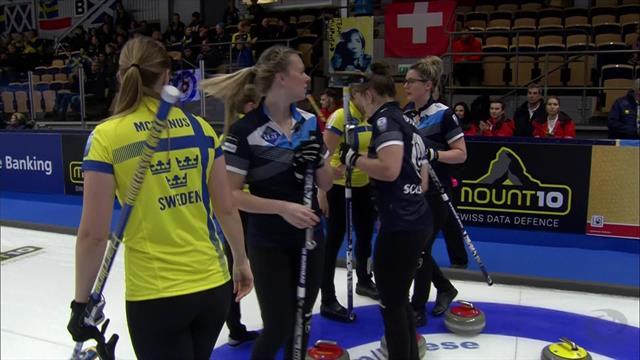 EK Helsingborg | Zweden maatje te groot voor Schotten