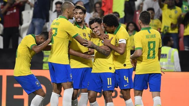 Amistoso, Brasil-Corea del Sur: Cortando una mala racha (3-0)