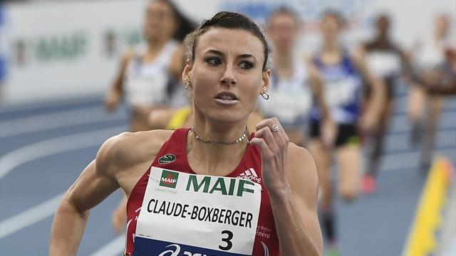 La Française Ophélie Claude-Boxberger aurait été contrôlée positive — Athlétisme
