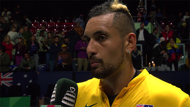 'I think we can win it for sure!' - Kyrgios aiming high at Davis Cup