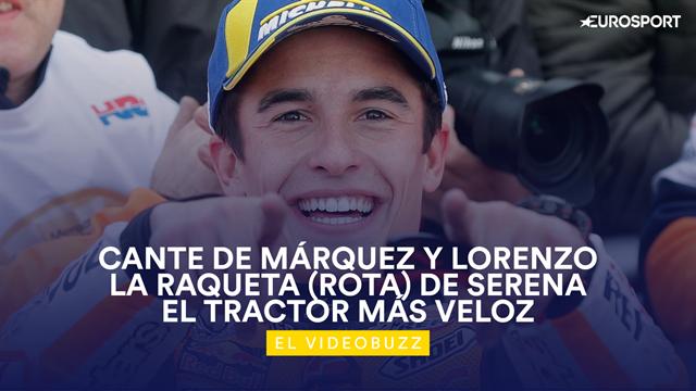 El videobuzz, lo más curioso del deporte: El fiestón de Márquez y Lorenzo en Valencia