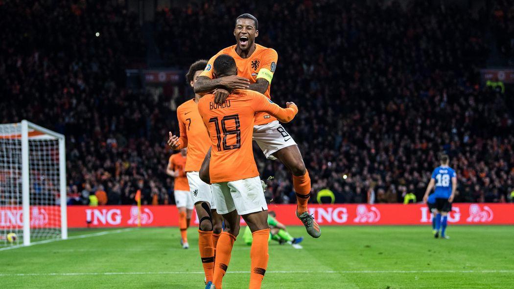 Em Qualifikation Niederlande Belgien Und Russland In