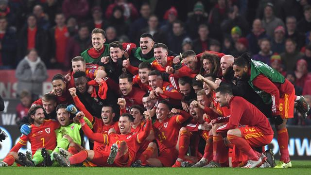 Ramsey brace secures Euro 2020 place for Wales