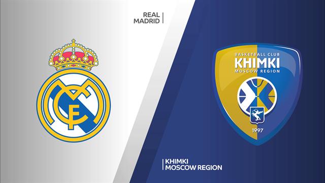 Highlights: Real Madrid-Khimki Mosca 104-76