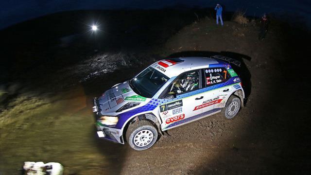 Pilote ERC Junior, Wagner triomphe en Autriche