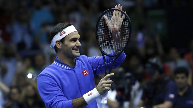 Federer: Zehn Millionen Dollar für fünf Spiele?