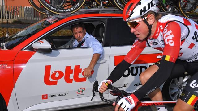 La prohibición de la que todo el ciclismo está hablando: 'ley seca' en el equipo Lotto-Soudal
