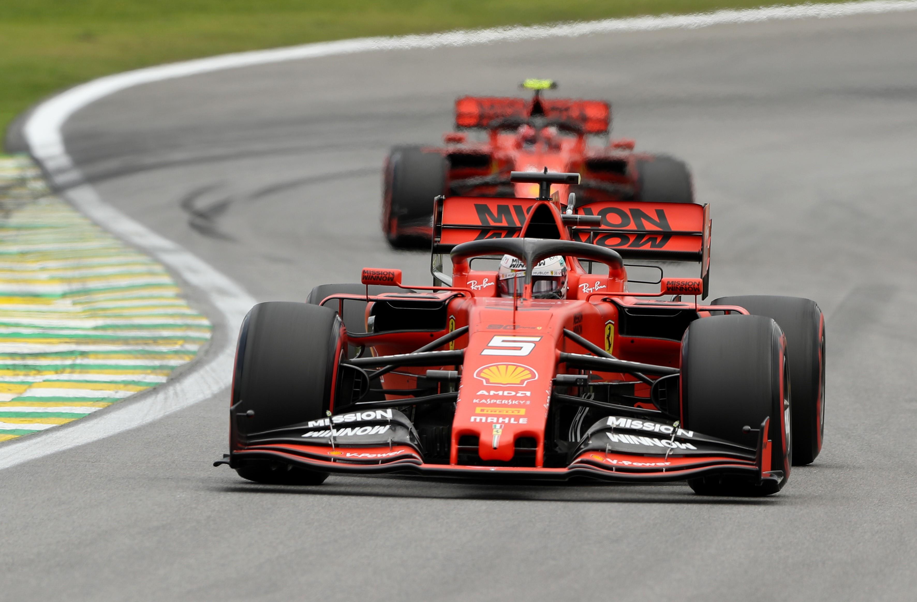Sebastian Vettel - Charles Leclerc | Ferrari