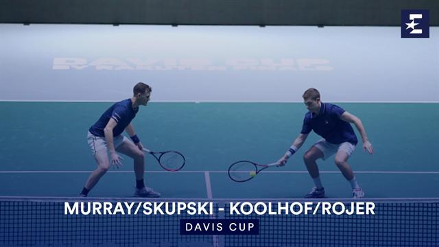Highlights: Murray/Skupski seal victory for GB