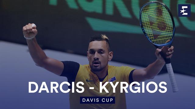 Highlights: Kyrgios battles past Darcis