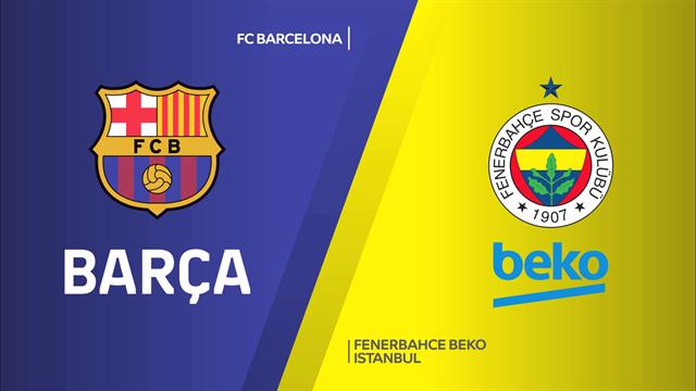 Highlights: FC Barcellona-Fenerbahce Beko Istanbul 89-63