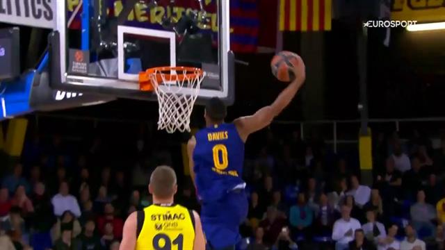 Davies, Smits, Kuric, Bolmaro devastano il ferro: il Barcellona è uno spettacolo!