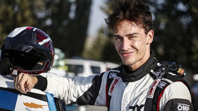 Extreme interest: ERC champion* Ingram joins Extreme E Drivers' Programme