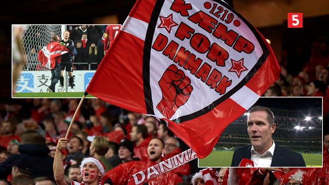 Peter Møller forholder sig til urolighederne blandt danske fans i Parken: Det går ikke